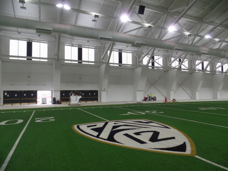 Cu Indoor Practice Facility Powers Products