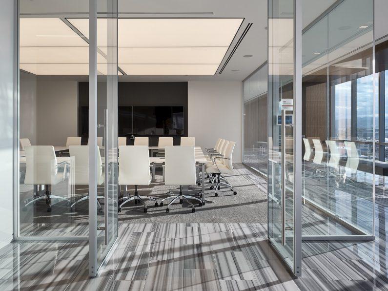 Cushman - Modernus - lobby pivot doors 2-web