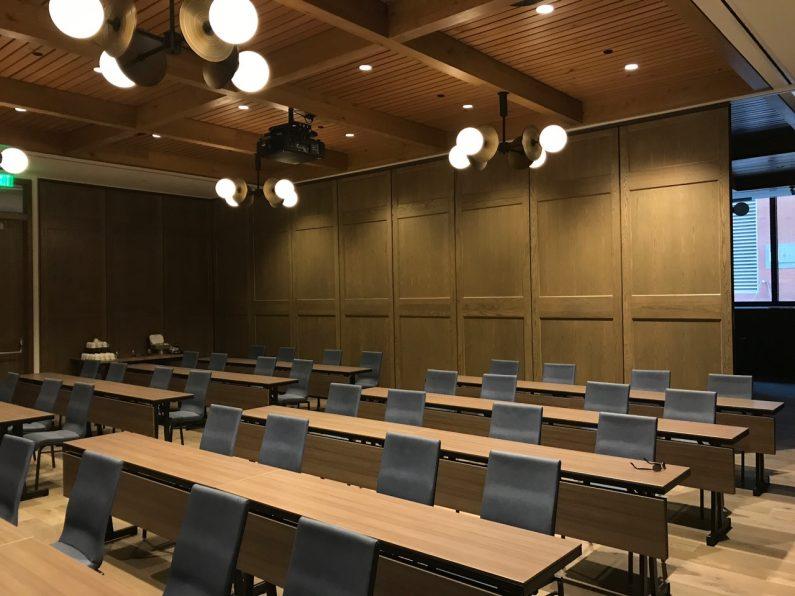 Maven Hotel - classroom setup
