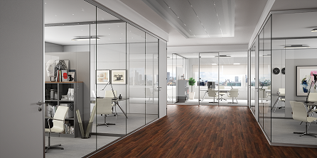 Line Systems - modular, demountable partitions